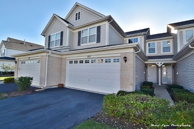 Oswego Condo/Townhouse For Sale: 495 Dancer Lane