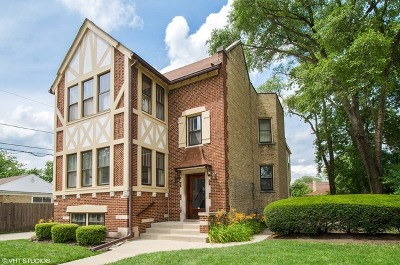 Skokie Multi Family Home For Sale: 5142 Wright Terrace