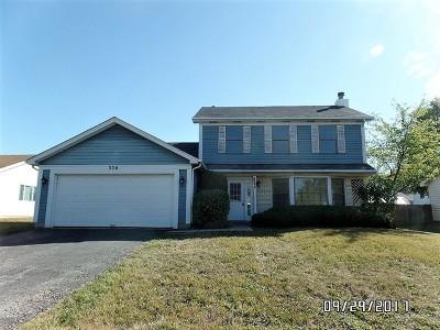 Bolingbrook Single Family Home For Sale: 336 Lakeside Drive