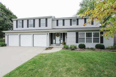 Palatine Single Family Home Contingent: 536 South Echo Lane