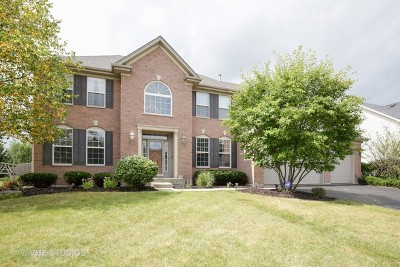 Crystal Lake Single Family Home Contingent: 1564 Rolling Hills Drive