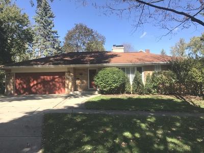 Glen Ellyn Single Family Home For Sale: 794 Wingate Road