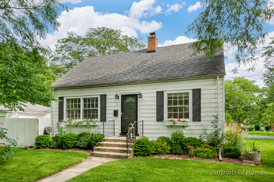 Glen Ellyn Single Family Home For Sale: 344 May Avenue