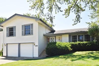 Hoffman Estates Single Family Home Contingent: 1055 Lancaster Court