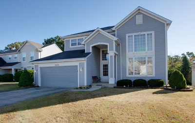 Round Lake Single Family Home For Sale: 34191 North Bluestem Road