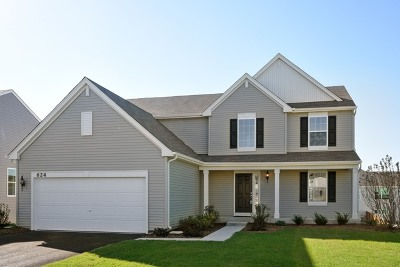 Hampshire Single Family Home Re-activated: 624 Marcello Drive