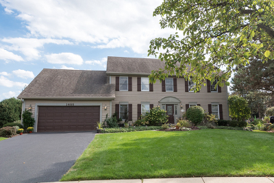 Naperville Single Family Home Contingent: 1466 Terrance Drive