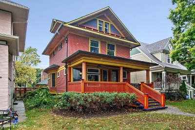 Oak Park Single Family Home For Sale: 731 Wesley Avenue