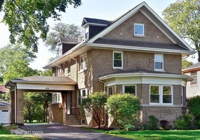 River Forest Single Family Home For Sale: 938 Monroe Avenue