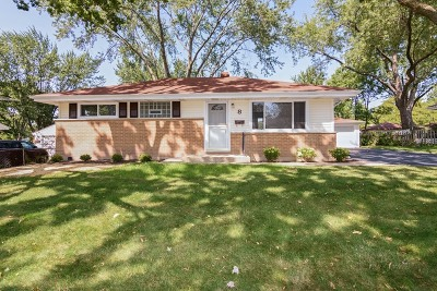 Lake Zurich Single Family Home New: 8 Crescent Road