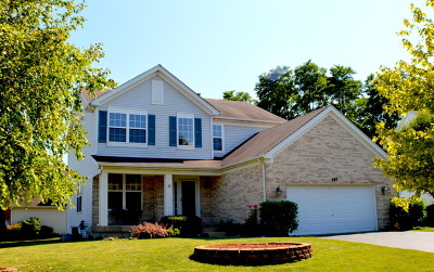 Gilberts Single Family Home New: 365 Alpine Drive