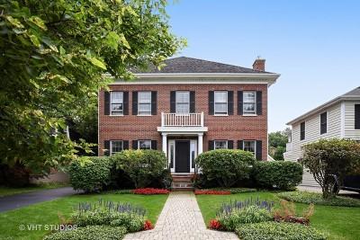 Wilmette Single Family Home For Sale: 2309 Kenilworth Avenue