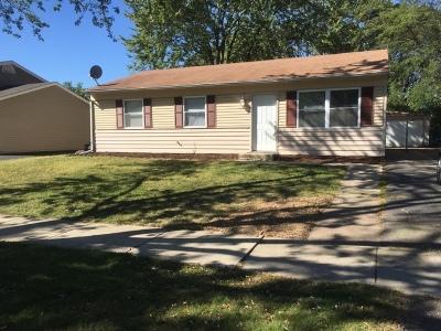 Bolingbrook Single Family Home New: 165 Galewood Drive
