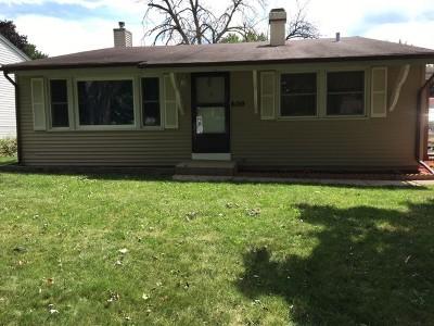 Carpentersville Single Family Home New: 6019 Hampton Drive