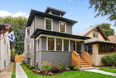 Oak Park Single Family Home Price Change: 1115 Clinton Avenue
