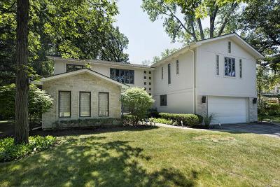 Highland Park Single Family Home For Sale: 1914 Burr Oaks Lane