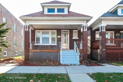 Single Family Home For Sale: 713 East 89th Place