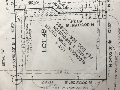 Algonquin Residential Lots & Land For Sale: Lot 4 B Ryan Parkway