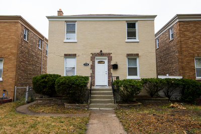 Chicago Single Family Home New: 8104 South Fairfield Avenue