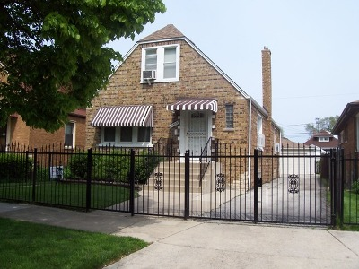 Chicago Single Family Home New: 10509 South Parnell Avenue
