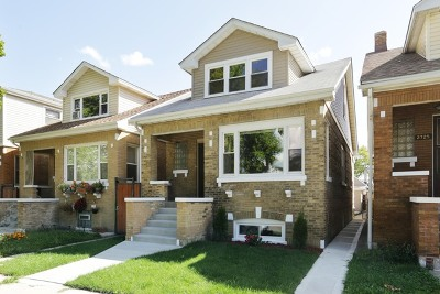Chicago Single Family Home New: 2727 North Rutherford Avenue
