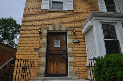 Single Family Home For Sale: 9400 South Wabash Avenue