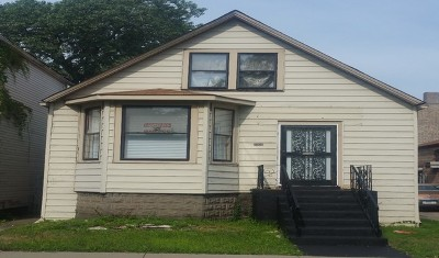 Single Family Home New: 8008 South Saginaw Avenue