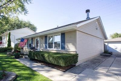 Romeoville Single Family Home For Sale: 334 Homer Avenue