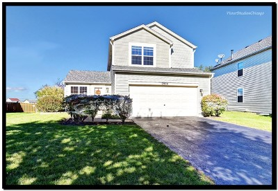Plainfield Single Family Home New: 2004 Prairie Ridge Drive