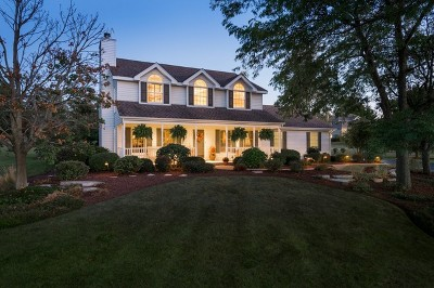 Hampshire Single Family Home Contingent: 19n125 Hillcrest Drive