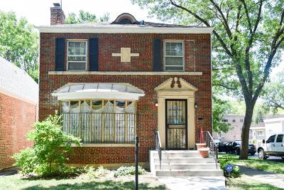 Single Family Home Price Change: 8400 South Vernon Avenue