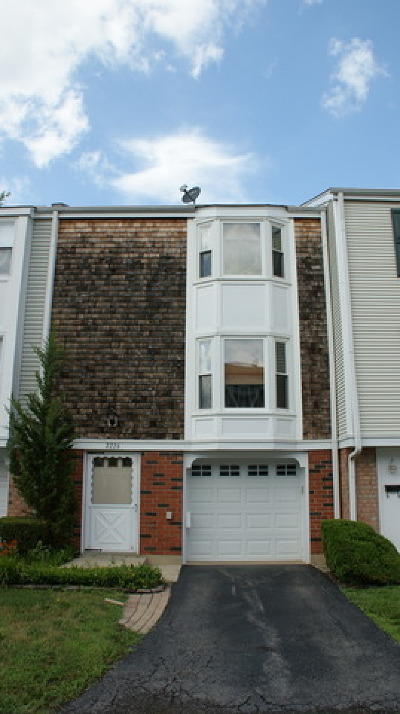 Hoffman Estates Condo/Townhouse For Sale: 2226 Langdon Place