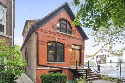 Chicago Single Family Home New: 2137 West Haddon Avenue