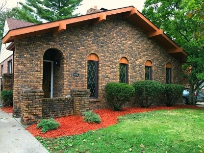 Homewood Single Family Home For Sale: 18438 Western Avenue