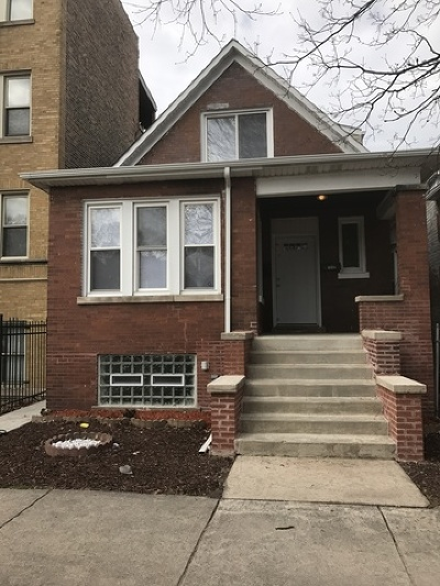 Single Family Home New: 7040 South Michigan Avenue