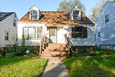 Dolton Single Family Home For Sale: 14746 Grant Street
