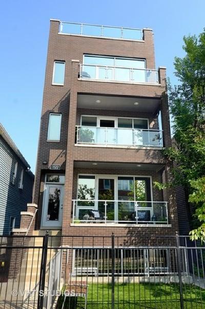 Chicago Condo/Townhouse New: 1522 West Chestnut Street #1