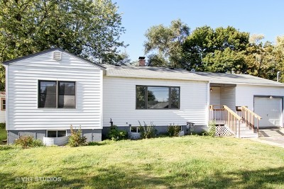 Johnsburg Single Family Home Re-Activated: 1402 Sunnyside Drive