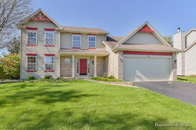 Oswego Single Family Home New: 741 Churchill Lane