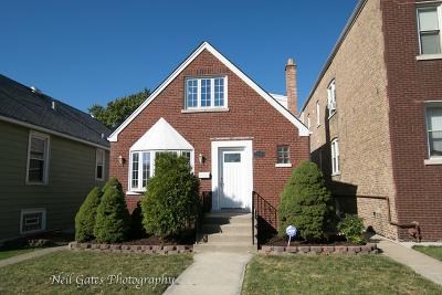 Chicago Single Family Home New: 6040 South Mason Avenue