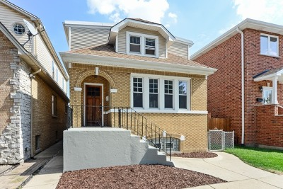Chicago Multi Family Home New: 3945 North Newland Avenue