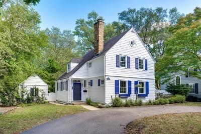 Winnetka Single Family Home For Sale: 259 Church Road
