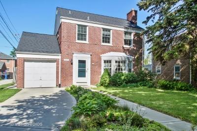 Chicago Single Family Home New: 5950 North Kilbourn Avenue