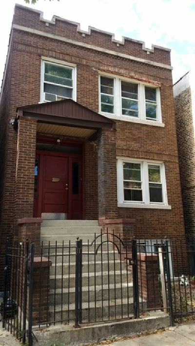 Chicago Multi Family Home New: 832 North Mozart Street