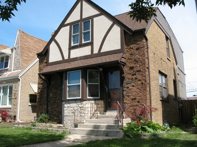 Chicago Single Family Home New: 6216 West Fletcher Street