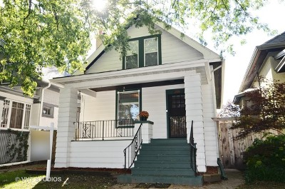 Chicago Single Family Home New: 2029 West Chase Avenue