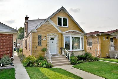 Chicago Single Family Home New: 7350 North Oconto Avenue