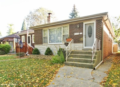 Chicago Single Family Home New: 3505 North Pontiac Avenue