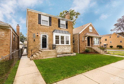 Chicago Single Family Home New: 3654 North Newland Avenue