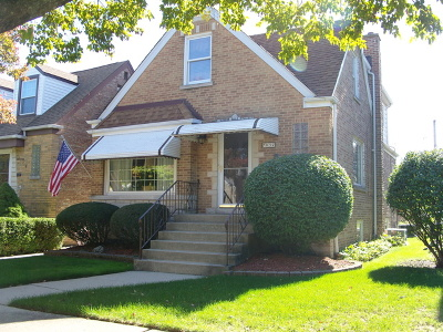 Chicago Single Family Home New: 7037 West Newport Avenue